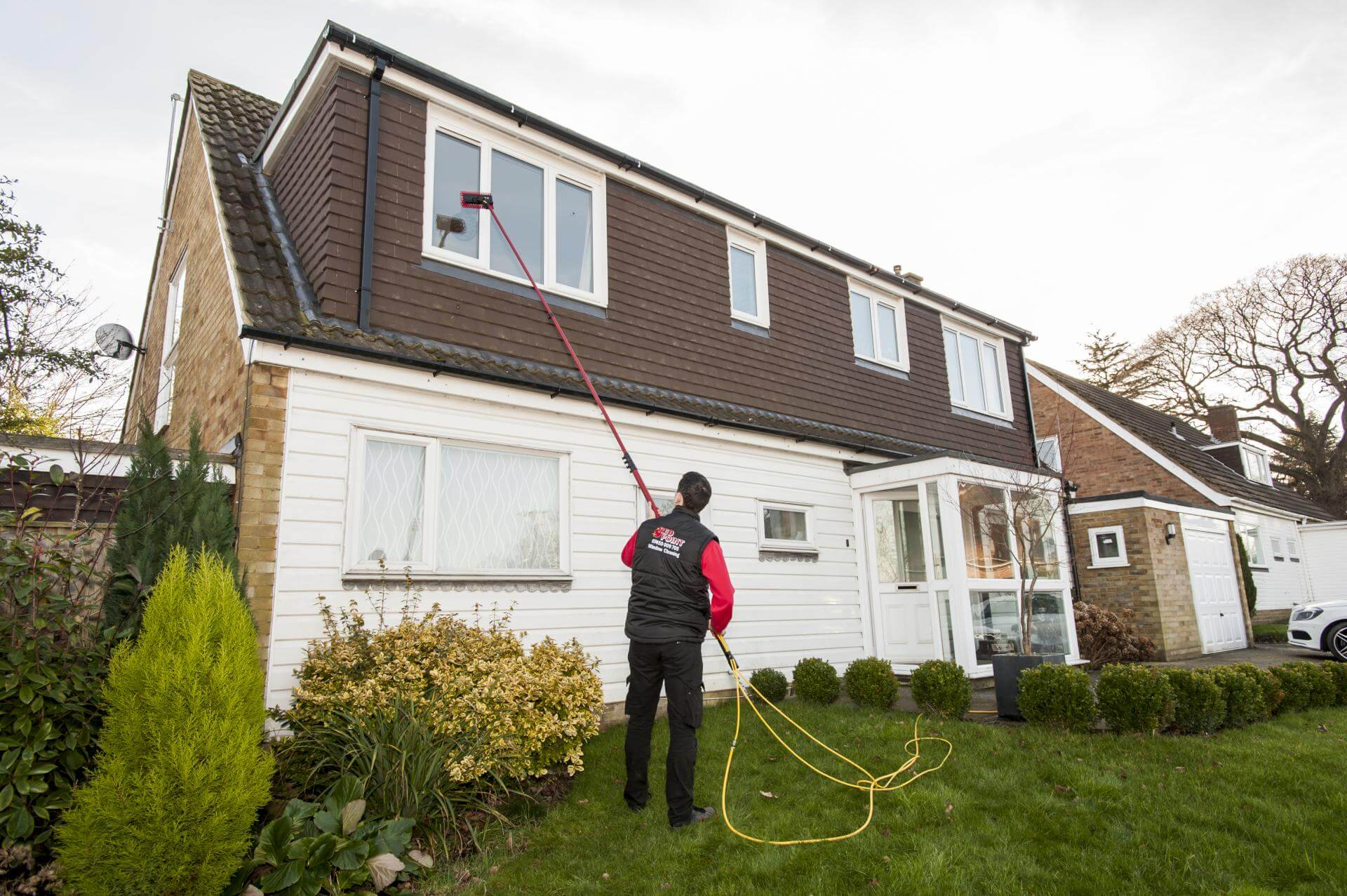 window cleaning companies london