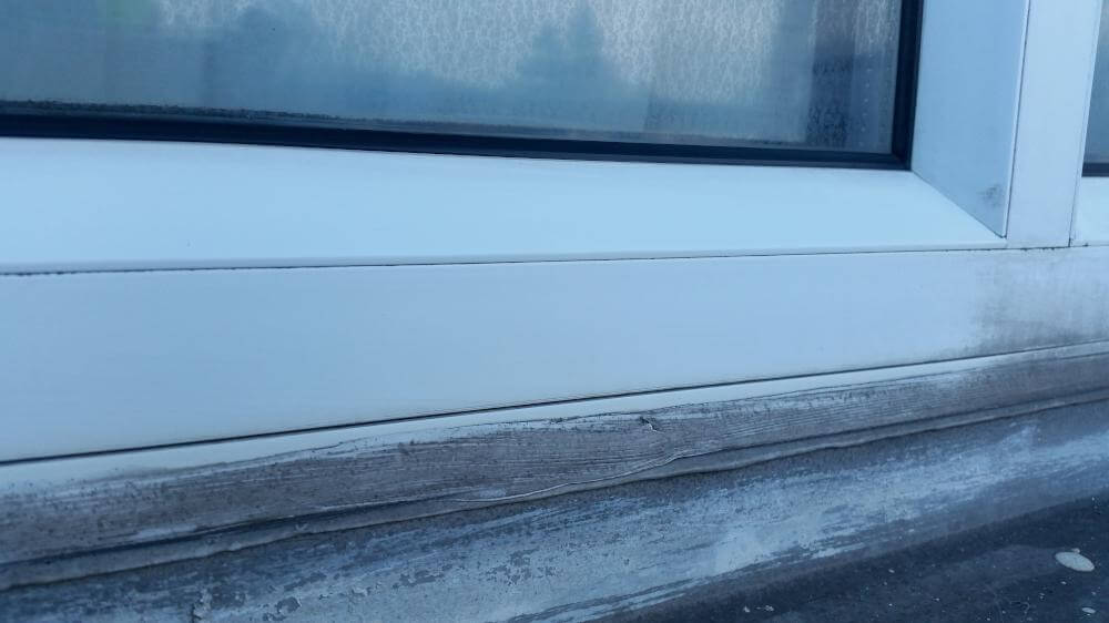 After uPVC Frame and Sill Cleaning and Restoration